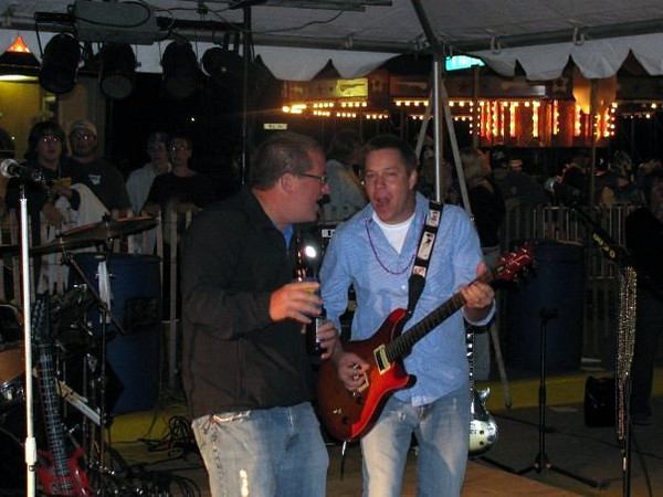 Jason and Todd at Founders Day ( 2009 )