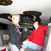 Elainee and her friend in the bands limo at Founders Days ( 2009 )