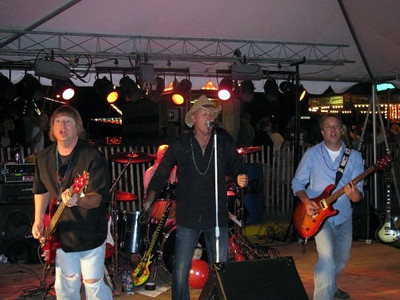 Blind Alley in the Beer Garden at Founders Days ( 2009 )