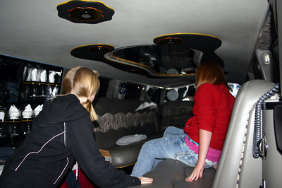 Elainee in the bands limo at Founders Days ( 2009 )