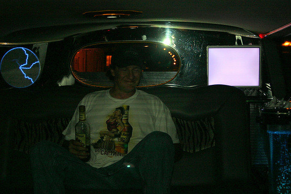 Doc in the limo after the band plays Wilton Founders Days ( 2009 )