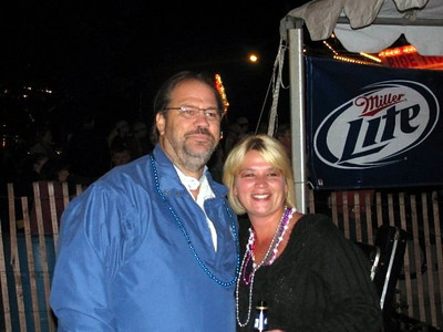 Steve came out to see Blind Alley at Founders Days ( 2009 )