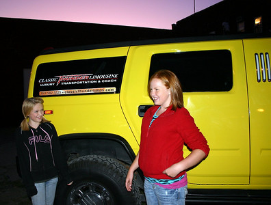 Elainee by Blind Alleys limo at Founders Day ( 2009 )