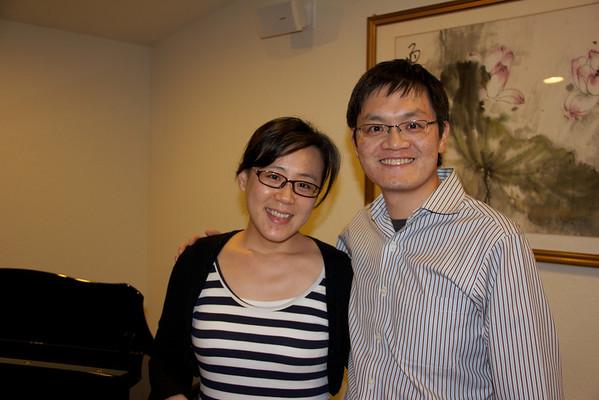 Yolanda and Justin's visit on 11/18/2011