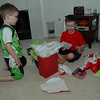 Time to open gifts. Woo-hoo !!!