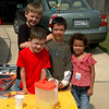 The first business venture of Zachary Kenneth Fuller Enterprises -- a very trendy lemonade stand.