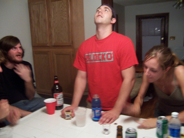 Zach's Birthday/First House Party