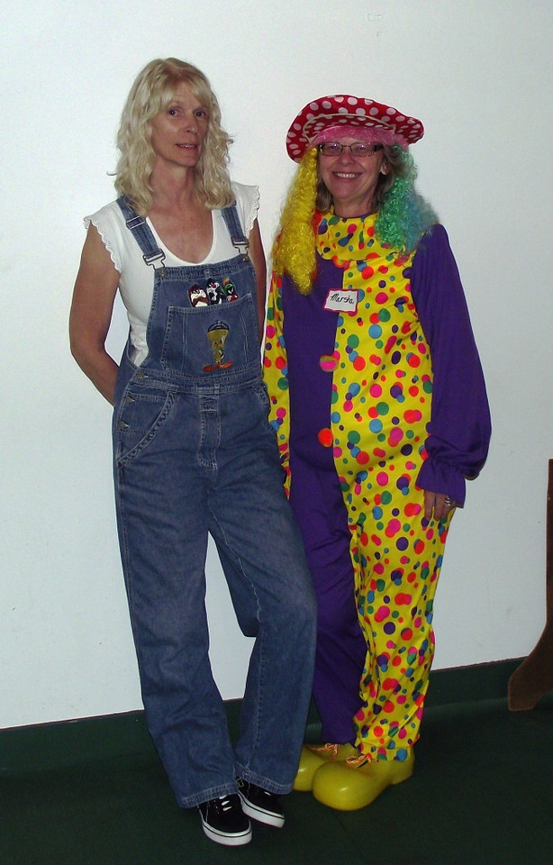 Farmer's daughter and the clown