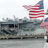 The USS Yorktown never looked better than on this day with over 70 patriots signing books for guests.
