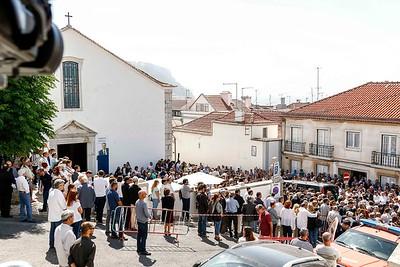2017-07-04  Funeral do presidente da Câmara Municipal de Sesimbra, Augusto Pólvora  LOCAL: Cerimónia fúnebre na Igreja Matriz de Sesimbra  Vista geral