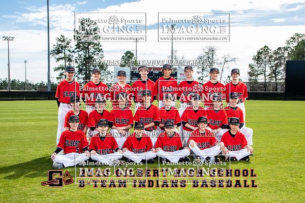 Gilbert High School B-Team Baseball Team and Individuals