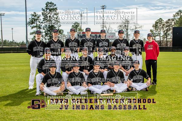 Gilbert High School JV Baseball Team and Individuals