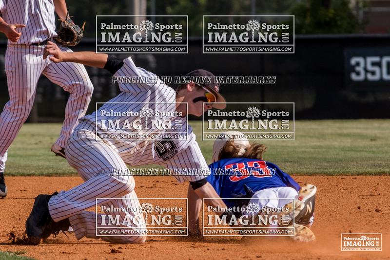 Gilbert Varsity Baseball vs Hanahan-90
