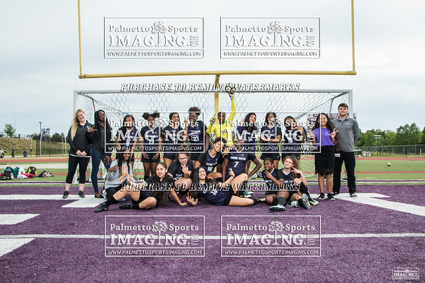 2019 Ladies Soccer Team and Individuals