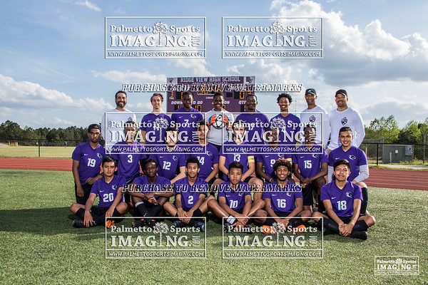 2019 Mens Soccer Team and Individuals
