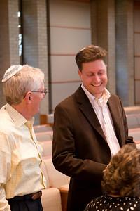 Greg Schofer -- Florence Melton Adult Mini-School of Greater Washington Graduation 2008 -- Partnership for Jewish Life and Learning