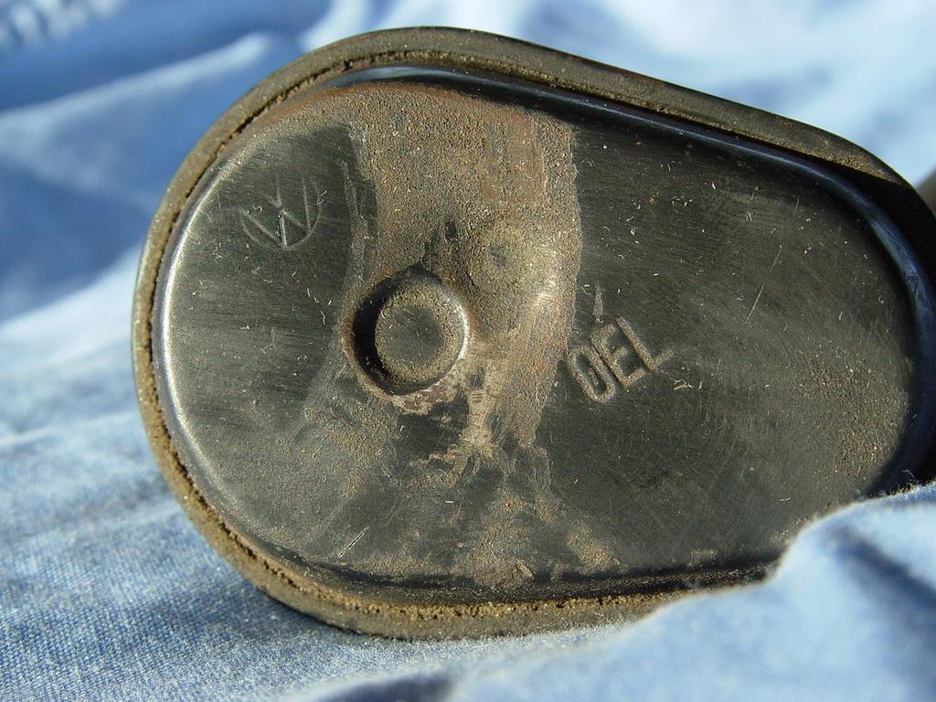 Original Late Split/Early Oval Oil Filler/Breather. - $60
