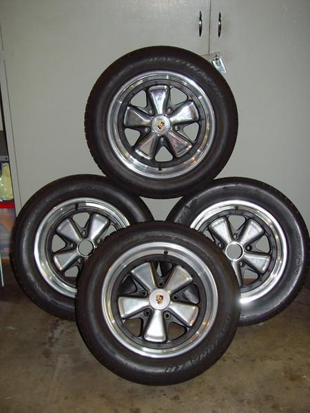 Porsche 3pcs Fuchs with Tires *SOLD*