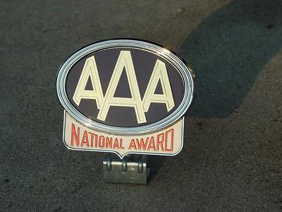 AAA National Award badge