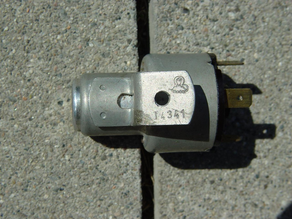 """NOS '64-'66 VW Bus Ignition Switch. - $200<br /> I comes with 2 original """"WITTE"""" keys. profile """"T"""" T4341"""