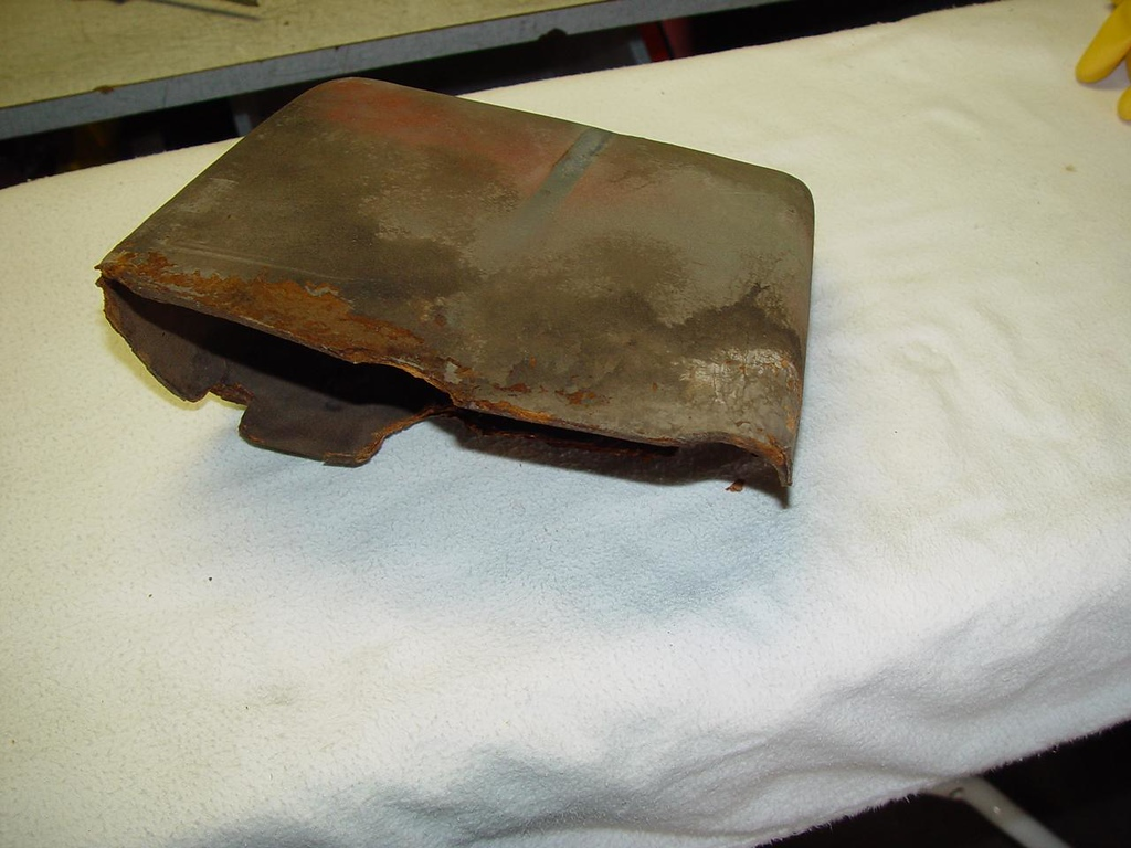 Original Oval glove box. Not perfect but is good for a driver.- $40