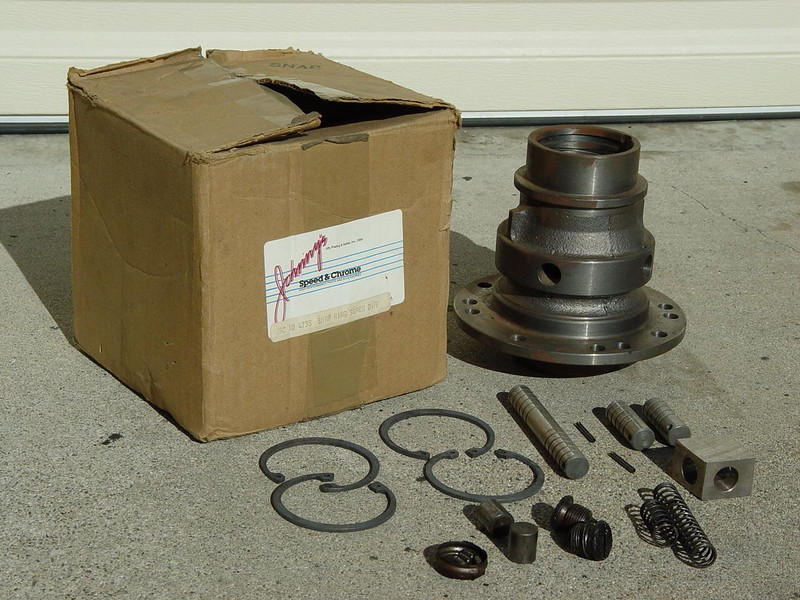 Johnny's Speed & Chrome Snap Ring Super Diff. - $145<br /> Brand new in the box.Storerage surface rust.