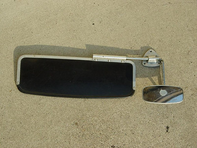 VW Beetle Rearview Mirror with Visor