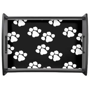 Pets Paw Prints Tray