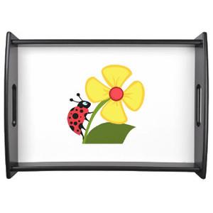 Ladybug Flower Trays