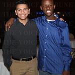 Manny Rodriguez and Silas Muqisha.