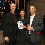 Brian French, Heather Schwartz and Larry Schwartz.