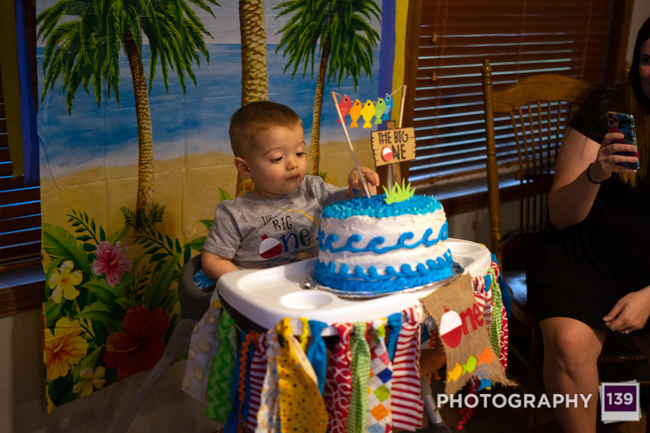 Kanoa's 1st Birthday Party