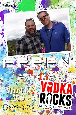 August 11, 2018 - Vodka Rocks with Effen Vodka!