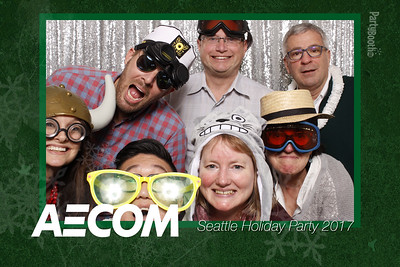 AECOM Seattle Winter Party 2017 - Tonight We PartyBooth!