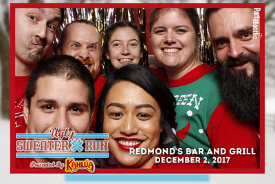 December 2, 2017 - Kahlua Ugly Sweaters at Redmond's Bar and Grill