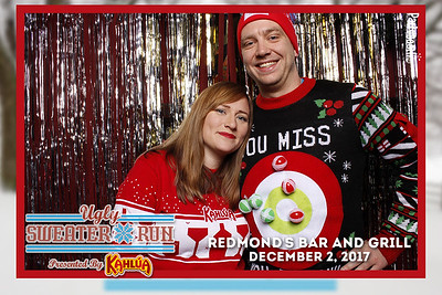 Show off that Ugly Sweater at Redmond's Bar and Grill with Kahlua - Tonight We PartyBooth!
