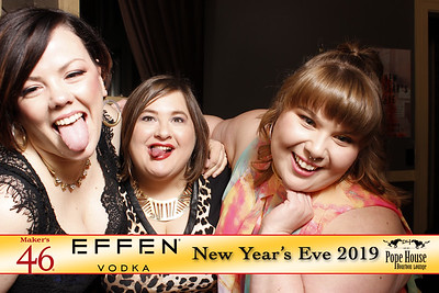 Celebrate New Year's Eve at Portland's Pope House Bourbon Lounge - Tonight We PartyBooth!