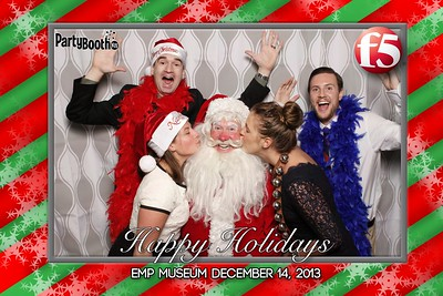 December 14, 2013 - F5 Holiday Party