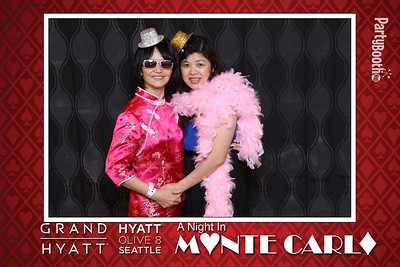 A Night in Monte Carlo with Team Hyatt Seattle
