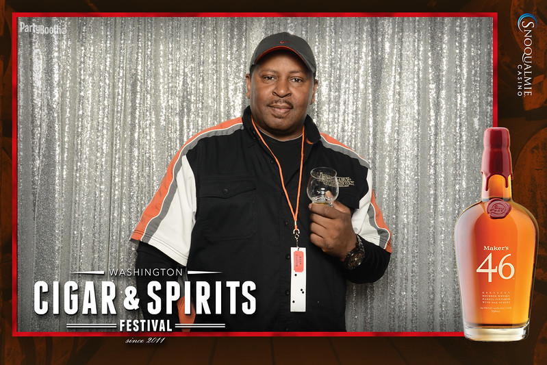 Tonight We Celebrate the 7th Annual Washington Cigar and Spirits Festival at Snoqualmie Casino - Tonight We PartyBooth!
