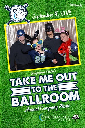 The 2018 Annual Family Picnic at Snoqualmie Casino – Tonight We PartyBooth!