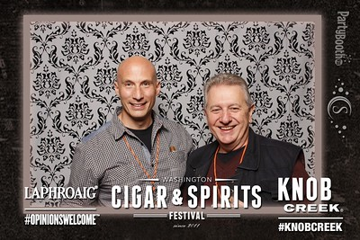 The 6th Annual Washington Cigar and Spirits Festival at Snoqualmie Casino - Tonight We PartyBooth!