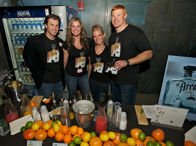 Greg Meyer, Colby Hale, Kelli Ives and Rocky Boiman from el Arco at Taste of the World Saturday night