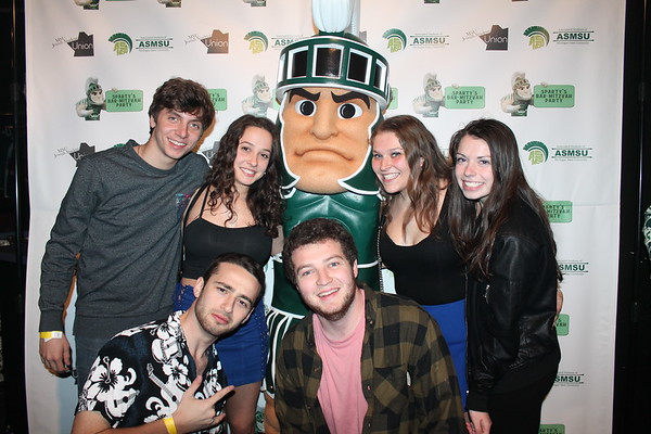 Sparty's Bar Mitzvah Party 2018: I Love Sparty