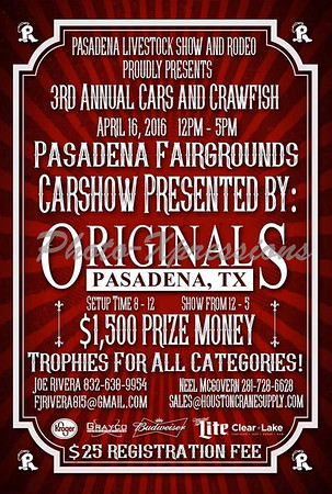 3rd annual cars & crawfish
