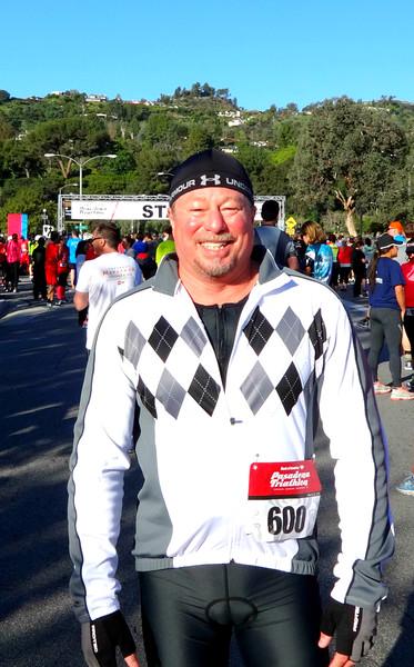 Pasadena Rose Bowl Triathlon, March 12, 2016