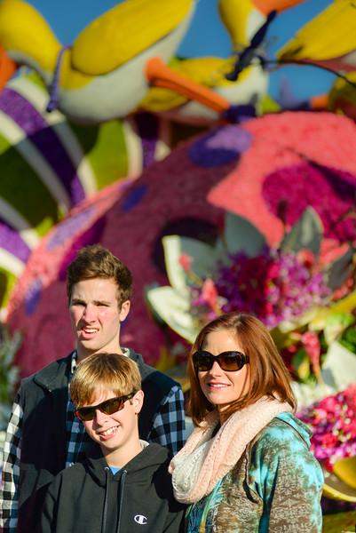 Pasadena-Rose Parade 2015