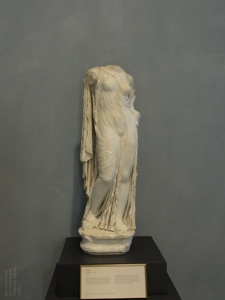 Wet Dress Roman Venus, Getty Villa