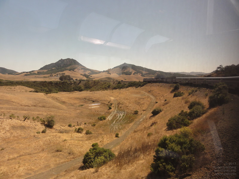 The 300° horseshoe curve near San Luis Obispo
