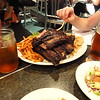 At least once I needed a typical North American Dinner. Tasty Beef Ribs at Lucille's Smokehouse Bar-B-Que, Torrance.